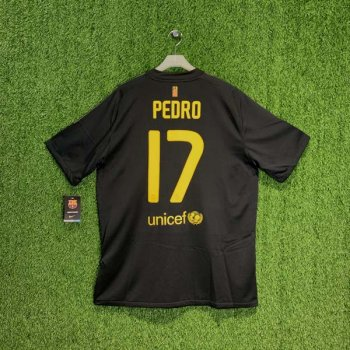 FC BARCELONA 11/12 (AWAY) S/S 419880-010 w/ NAMESET (#17 PEDRO)
