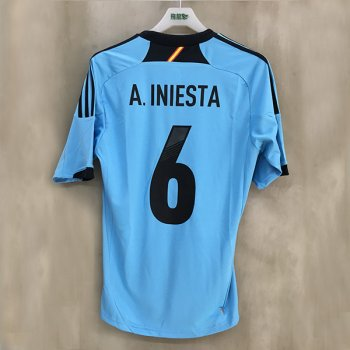 ADIDAS SPA 12 (A) S/S with nameset(#A.INIESTA)