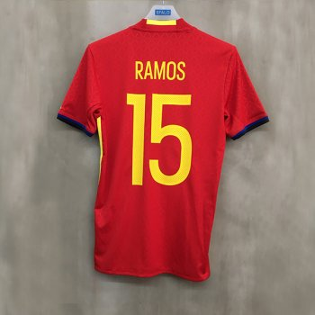 ADIDAS SPA 2016 (H) S/S JSY with Nameset(#15 RAMOS)