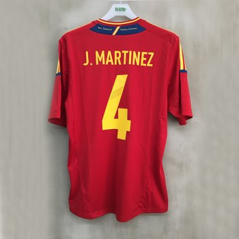 ADIDAS SPA 12 (H) S/S with Nameset(#4 J.MARTINEZ)