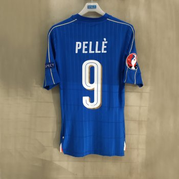 PUMA FIGC ITALIA 16/17 (H) with Nameset(#9 PELLE)