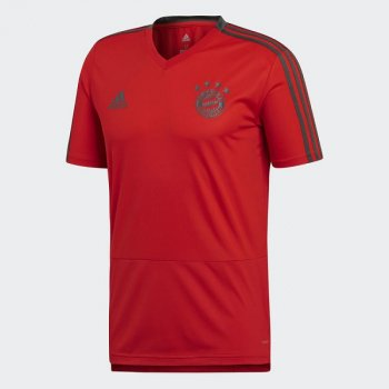 ADIDAS FC BAYERN 18/19 TRAINING TEE RED CW7261