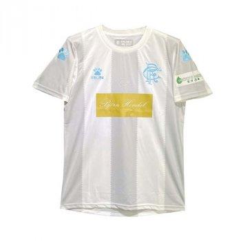 KELME RANGERS FC 19/20 A WHT S/S w/ NAMESET
