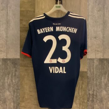 ADIDAS FCB 17 (A) JSY with nameset(#23 VIDAL)