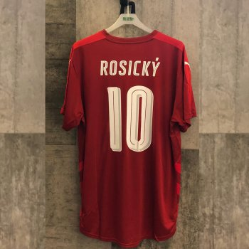 PUMA Czech 16 (H) Republic Shirt Replica with nameset(#10 ROSICKY)