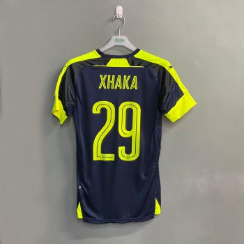 PUMA Arsenal 16/17 3RD SS JSY with nameset(#29 XHAKA)