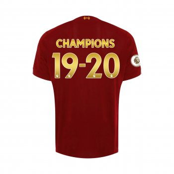 NB LIVERPOOL FC 19/20 HOME SS JERSEY MT930000 w/ #19-20 champions printing + EPL champions badge