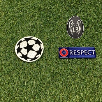 UEFA Champions League 2019 Champion Badge Set for Real Madrid
