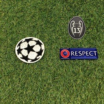 UEFA Champions League 2019 Champion Badge Set for Real Madrid