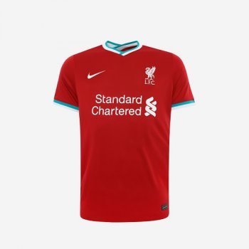 Nike Liverpool 20/21 (H) S/S JSY With EPL Nameset (Pre-Order)