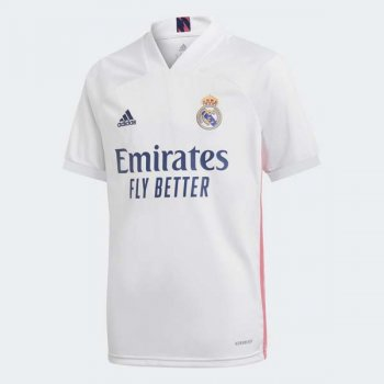 ADIDAS REAL MADRID 20/21 (H) YOUTH JSY FQ7486