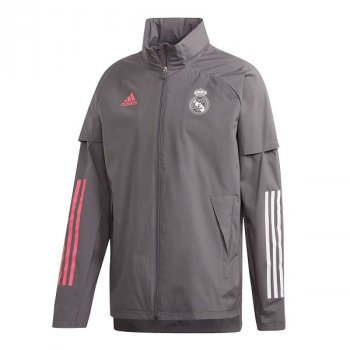 ADIDAS REAL MADRID 20/21 ALL WEATHER JACKET FQ7846