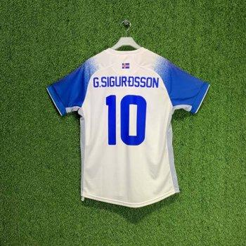 ERREA KSI 2018 (A) SS JSY w/ Nameset (#10 G. SIGURDSSON)