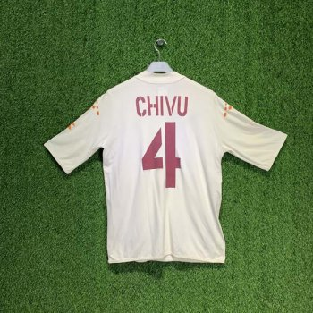 AS ROMA 03/04 (A) S/S JSY w/ NAMESET (#4 CHIVU)