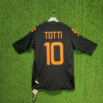 AS ROMA 07/08 (3RD) S/S JSY w/ NAMESET (#10 TOTTI)