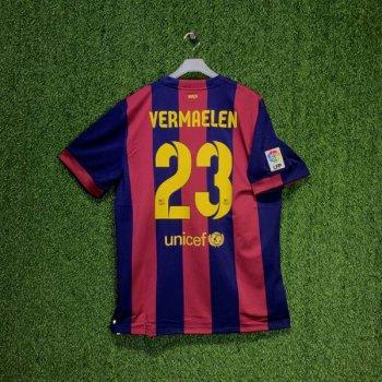 NIKE FC BARCELONA 14/15 (H) S/S STADIUM JSY  w/ NAMESET (#23 VERMAELEN)