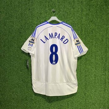 CHELSEA 06/07 (A) S/S JSY 061200 w/ NAMESET (#8 LAMPARD) + EPL BADGE