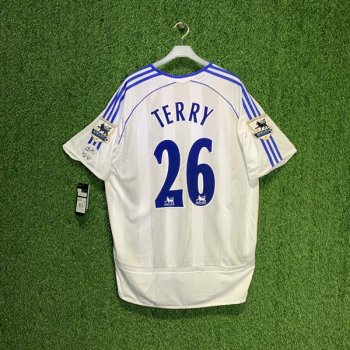 CHELSEA 06/07 (A) S/S JSY 061200 w/ NAMESET (#26 TERRY) + EPL BADGE