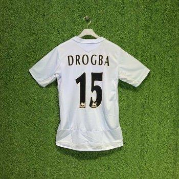 Umbro Chelsea 05/06 (AWAY) S/S JSY w/ Nameset (#15 DROGBA)