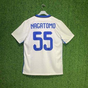 NIKE INTER MILAN 15/16 (A) SS STADIUM JSY 658827-106 w/ NAMESET (#55 NAGATOMO )
