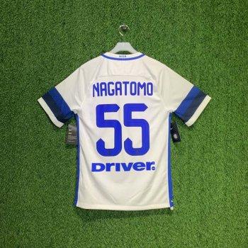 NIKE INTER 16/17 (A) STADIUM S/S JSY 776888-101 w/ NAMESET (#55 NAGATOMO)
