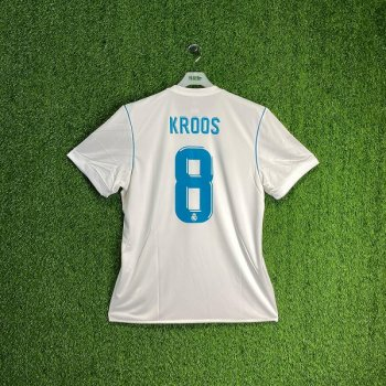ADIDAS REAL MADRID 17/18 (HOME) S/S JSY AZ8059 w#8/ NAMESET