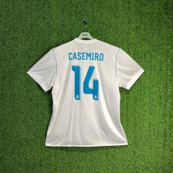 ADIDAS REAL MADRID 17/18 (HOME) S/S JSY AZ8059 w/#14 NAMESET