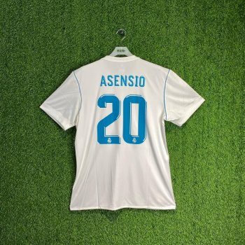 ADIDAS REAL MADRID 17/18 (HOME) S/S JSY AZ8059 w/#20 NAMESET