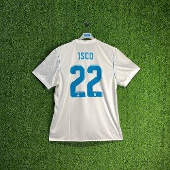 ADIDAS REAL MADRID 17/18 (HOME) S/S JSY AZ8059 w/#22 NAMESET
