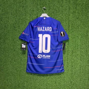 NIKE CFC 18/19 HOME JSY 919009-496 w/ NAMESET (#10 HAZARD) + BADGE