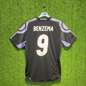 ADIDAS REAL 16 3RD JSY BLK AI5139 with #9 BENZEMA