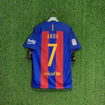 NIKE FC Barcelona 16/17 (H) JSY With Namset (#4 ARDA)