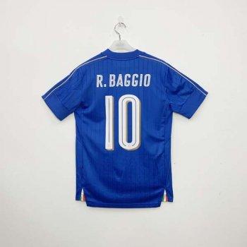 PUMA FIGC Italia 16-17 (H) Shirt 748933-01 w/ NAMESET (#10 R.BAGGIO)