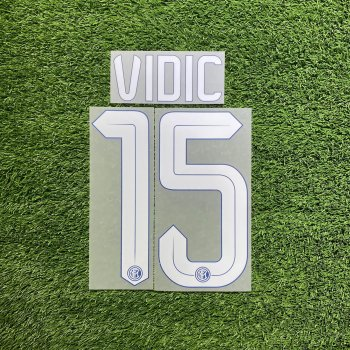 Inter Milan 15/16 (H) Letters and Numbers