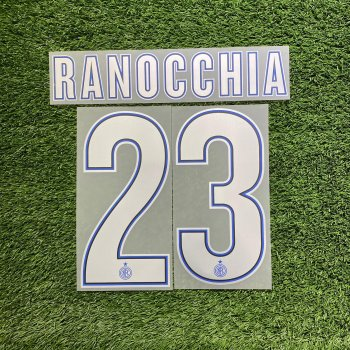 Inter Milan 13/14 (H) Letters and Numbers