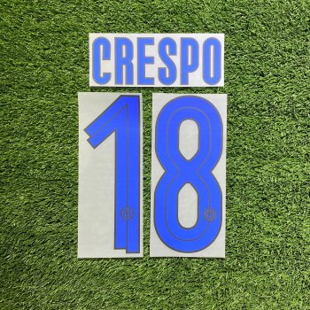 Inter Milan 07/09 (A) Letters and Numbers