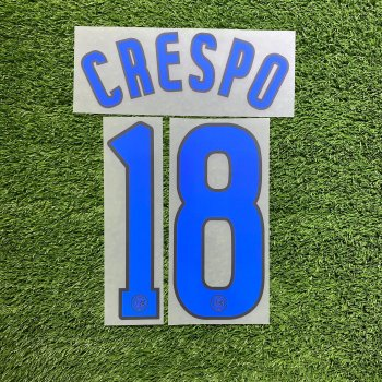 Inter Milan 06/07 (A) Letters and Numbers