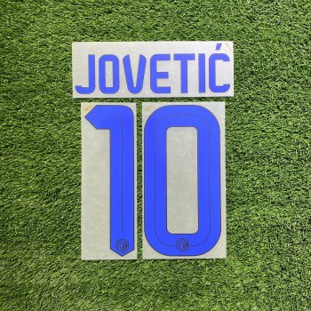 Inter Milan 2016(A) Letters and Numbers