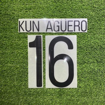 Manchester City 2012 (H) Nameset