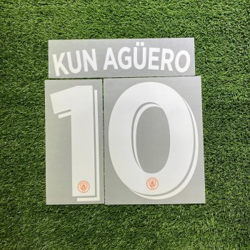 Manchester City 2016(3RD) Nameset*只供收藏*