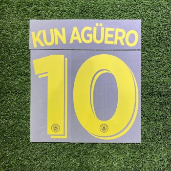 Manchester City 2016 (A) Nameset*只供收藏*
