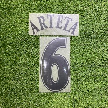 Everton 2007 (A) Nameset 絨字