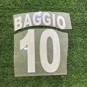 Brescia 02/03(H) Nameset #10 BAGGIO 絨字