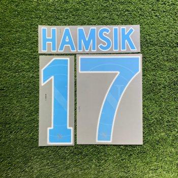 Napoli 2011 (A) Nameset #17 HAMSIK