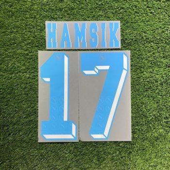 Napoli 12/13 (A) Nameset #17 HAMSIK