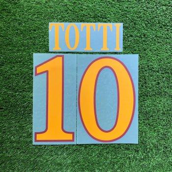 Roma 2010 (3RD) Nameset #10 TOTTI