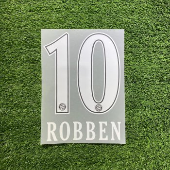 FC Bayern München 10/11(H) Nameset *只供收藏*
