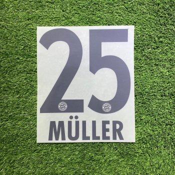 FC Bayern München 10/11(A) Nameset *只供收藏*