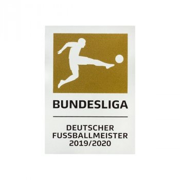 BUNDESLIGA 20/21 PLAYER CHAMPION BADGE (BAYERN 19/20)