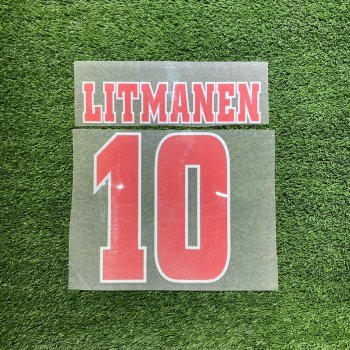 Ajax 98/99 (A) Letters and Numbers